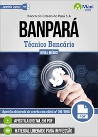 Técnico Bancário - BANPARÁ