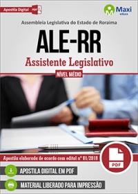 Assistente Legislativo - Assembleia Legislativa - RR