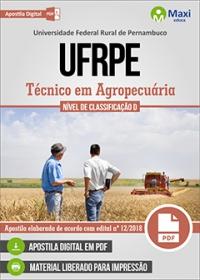 Técnico em Agropecuária - UFRPE
