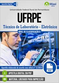 Técnico de Laboratório - Área Eletrônica - UFRPE