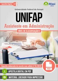 Assistente em Administração - UNIFAP