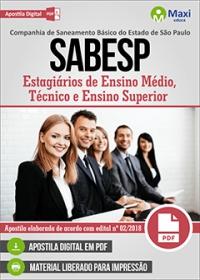 Estagiários - SABESP