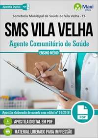 Agente Comunitário de Saúde - SMS Vila Velha