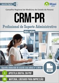 Profissional de Suporte Administrativo - CRM-PR