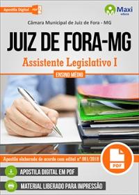Assistente Legislativo I - Câmara de Juiz de Fora - MG