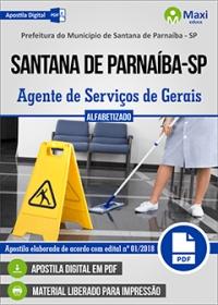 Agente de Serviços de Gerais - Prefeitura de Santana de Parnaíba - SP