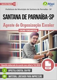 Agente de Organização Escolar - Prefeitura de Santana de Parnaíba - SP