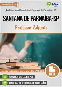 Professor Adjunto - Prefeitura de Santana de Parnaíba - SP