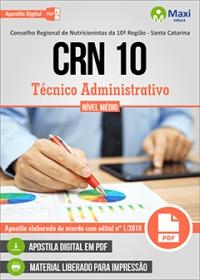 Técnico Administrativo - CRN 10ª Região - SC