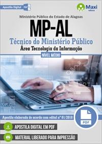 Técnico do Ministério Público - Tec. da Informação - Ministério Público - AL