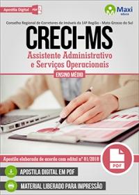 Assistente Administrativo e Serviços Operacionais - CRECI-MS