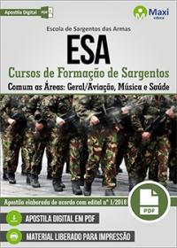 Conhecimentos Comuns - Cursos de Formação de Sargentos - Exército Brasileiro