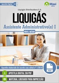 Assistente Administrativo I - LIQUIGÁS