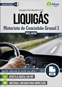 Motorista de Caminhão Granel I - LIQUIGÁS
