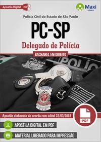 Delegado de Polícia - Polícia Civil - SP
