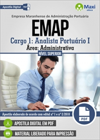 Cargo 1 - Analista Portuário I - Área Administrativa - EMAP