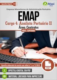 Cargo 4 - Analista Portuário II - Área Contratos - EMAP