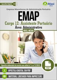 Cargo 12 - Assistente Portuário - Área Administrativa - EMAP