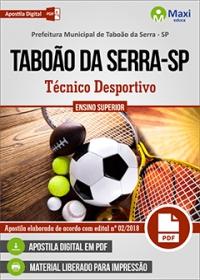 Técnico Desportivo - Prefeitura de Taboão da Serra - SP