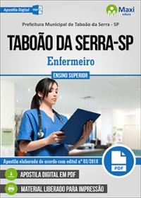 Enfermeiro - Prefeitura de Taboão da Serra - SP