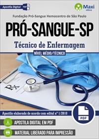 Técnico de Enfermagem - Fundação Pró-Sangue-SP