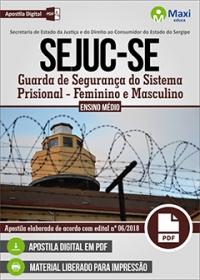 Guarda de Segurança do Sistema Prisional - SEJUC-SE