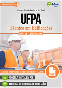 Técnico em Edificações - UFPA