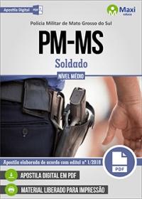 Soldado - Polícia Militar - MS