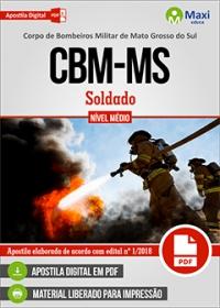 Soldado - Corpo de Bombeiros - MS