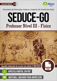 Professor Nível III - Física - SEDUCE-GO