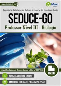 Professor Nível III - Biologia - SEDUCE-GO