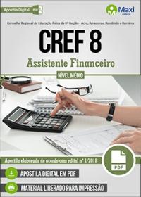 Assistente Financeiro - CREF 8ª Região