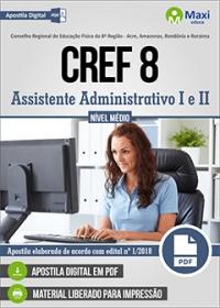 Assistente Administrativo I e II - CREF 8ª Região