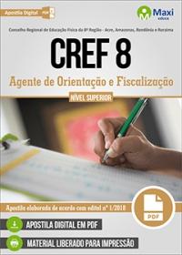 Agente de Orientação e Fiscalização - CREF 8ª Região