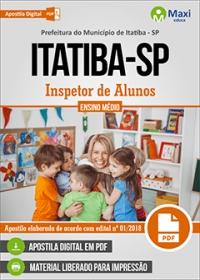 Inspetor de Alunos - Prefeitura de Itatiba - SP
