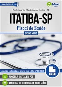 Fiscal de Saúde - Prefeitura de Itatiba - SP
