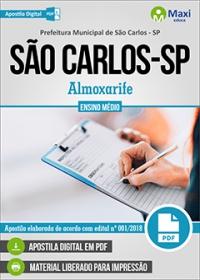 Almoxarife - Prefeitura de São Carlos - SP