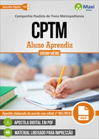 Aluno Aprendiz - CPTM