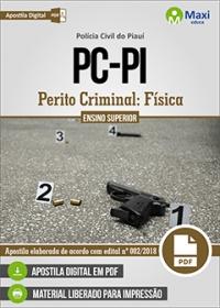 Perito Criminal: Física - Polícia Civil - PI