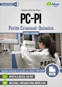 Perito Criminal - Química - Polícia Civil - PI