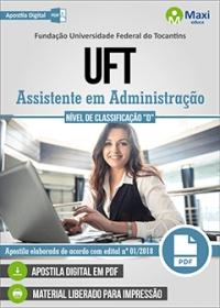 Assistente em Administração - UFT