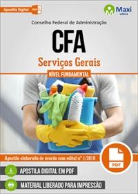 Serviços Gerais - CFA