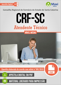 Atendente Técnico - CRF-SC