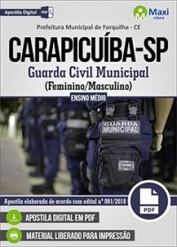 Guarda Civil Municipal - Prefeitura de Carapicuíba - SP
