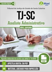 Analista Administrativo - Tribunal de Justiça - SC