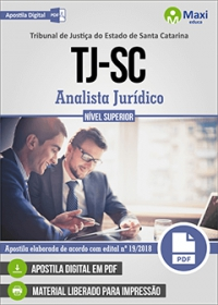 Analista Jurídico - Tribunal de Justiça - SC