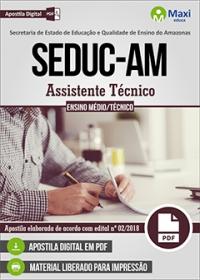 Assistente Técnico - SEDUC-AM