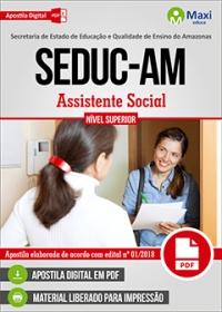 Assistente Social - SEDUC-AM