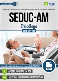 Psicólogo - SEDUC-AM