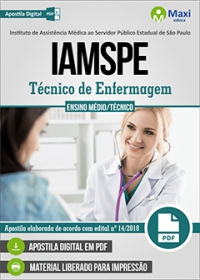 Técnico de Enfermagem - IAMSPE